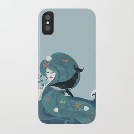 Aquatic Life of a Seaflower iPhone Case