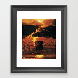 alternative sun Framed Art Print