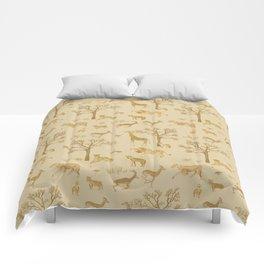 Safari in the Serengeti Comforters
