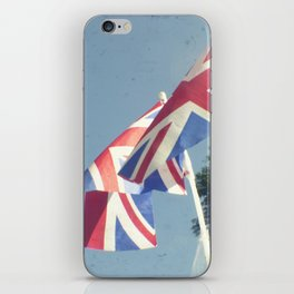 Flags - Union Jacks against a blue sky iPhone Skin