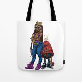 queen Lyls Tote Bag