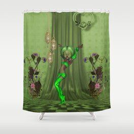 cute fairy Shower Curtain