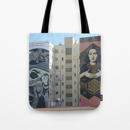 Building-end Art Malaga Tote Bag