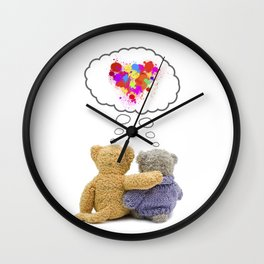 Love forever. Wall Clock