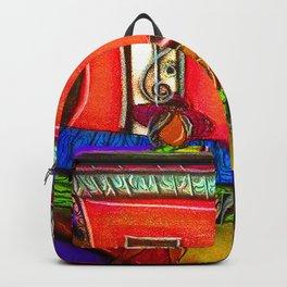 Heart Girl Zydeco Band Backpack