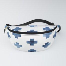 Crosses Scandinavian Pattern Fanny Pack