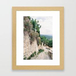 Gordes, Luberon - Alleys Framed Art Print