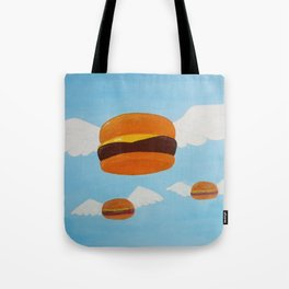 Bob's Flying Burgers Tote Bag