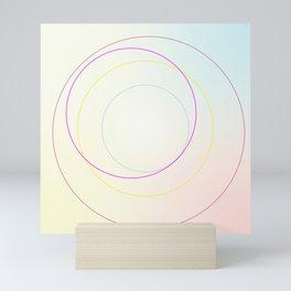 A Crop of Circles Mini Art Print