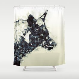 GEO FOX Shower Curtain