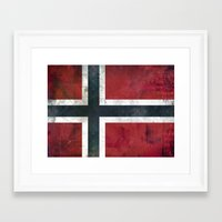 norway Framed Art Prints featuring Norway by Arken25