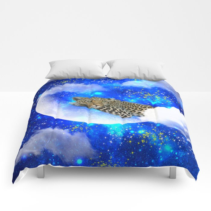 Relax in The moon Comforters
