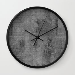 Color Code – Grey Slate Wall Clock
