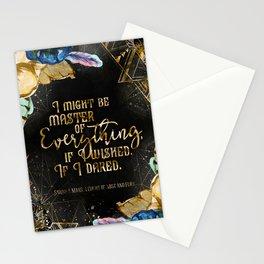 Master of Everything (ACOMAF) Stationery Cards