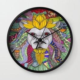 Medusa Lioness Wall Clock