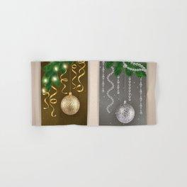 Christmas banners Hand & Bath Towel