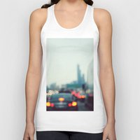 chicago Tank Tops featuring Chicago by KimberosePhotography