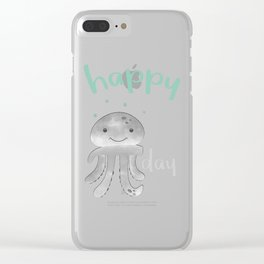 Happy Pi Day Clear iPhone Case