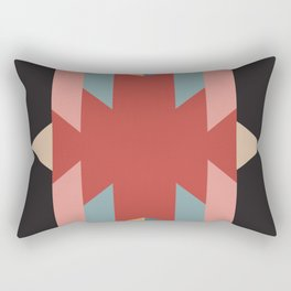 Red Star - Style Me Stripes Rectangular Pillow