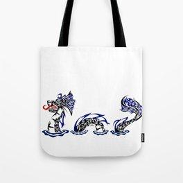 Lock Ness Monster Tote Bag