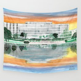 Ergon On Mirror Lake Wall Tapestry