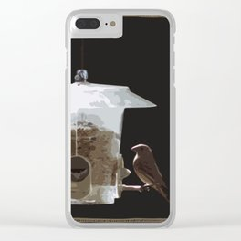 Petrie and Sid Clear iPhone Case