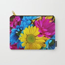 Colorful spring flowers Carry-All Pouch
