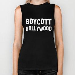Boycott Hollywood Biker Tank