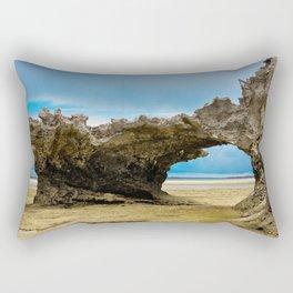 Natural Bridge and Tunnel Zanzibar Rectangular Pillow