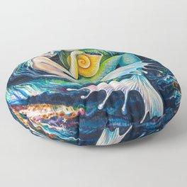 Sweet Dreams (Little Mermaid) Floor Pillow