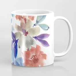 hand painted flowers_3c Coffee Mug
