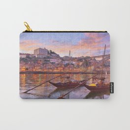Porto at dusk Carry-All Pouch