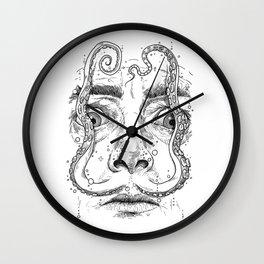 octopus dali Wall Clock