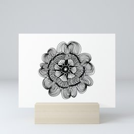 Audrey Mandala Mini Art Print