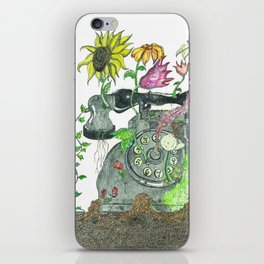 Technological Growth iPhone Skin