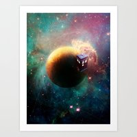 Stole a Timelord Art Print