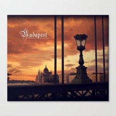 Around the world in 80 photos | Budapest  Canvas Print