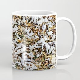 Fallen Autumn Leaves 4 Coffee Mug