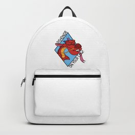 Dishonor on you! Backpack