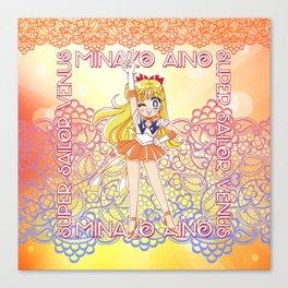 Chibi Super Sailor Venus Canvas Print