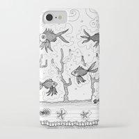 underwater iPhone & iPod Cases featuring Underwater by Condor