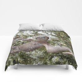 Sloth, A Real Tree Hugger Comforters