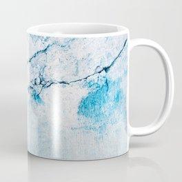 blue wall Coffee Mug