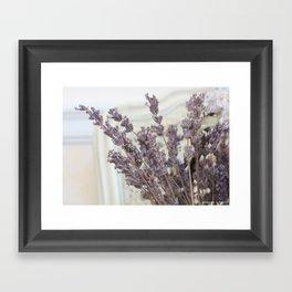 Lavender Still Life Framed Art Print
