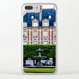 Paris.II Clear iPhone Case