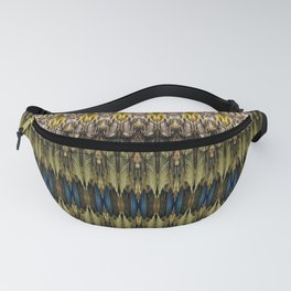 Daraf - Decorative stripes D of Alphabet collection Fanny Pack