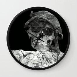 skullcap Wall Clock