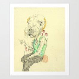 Amalgam II Art Print