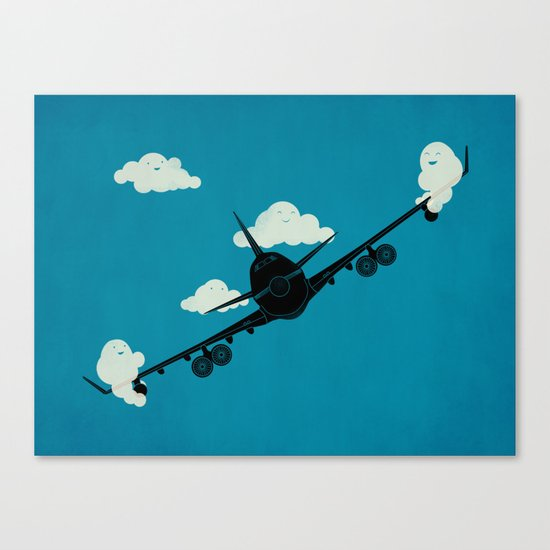 Seesaw in the Sky Canvas Print
