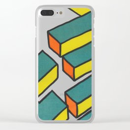 Sutro Baths Abstract Clear iPhone Case